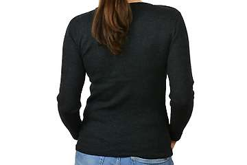 Woman sweater Belukha O neck (100% fine merino)
