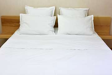 Flat sheet 100% organic cotton percale