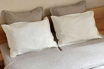 Pillowcase pure washed linen