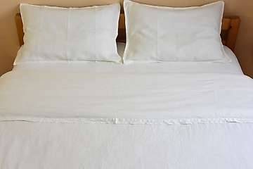 Flat sheet pure washed linen